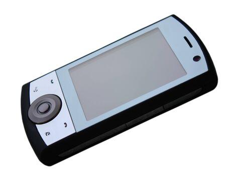 Smartphone isolated on white background. Stock Photo - 7811754