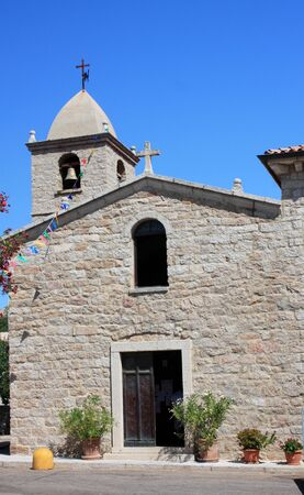 deep roots: The small country church, now parish since 1895, with the appointment of the first parish priest, was dedicated to San Pantaleo, whose cult has deep roots in the Sardinian population, and the saint is celebrated every year on July 27 to 30. San Pantaleo,