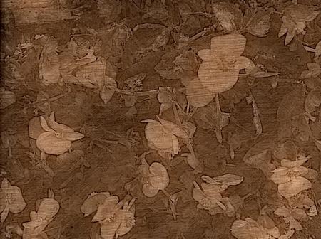 Artistic Backgrounds - Old fashioned floral background. Foto de archivo