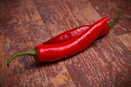 Food Ingredients - Vegetables - Chili peppers. Stock Photo - 13189594