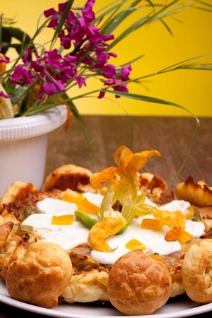 Internationale Küche - Französisch-Rezepte - Gougère Kuchen Mit ...