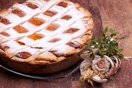 neapolitan: International Cuisine - Desserts - Neapolitan Pastiera . Pastiera is a wheat and ricotta pie that is also known as Pizza Gran.