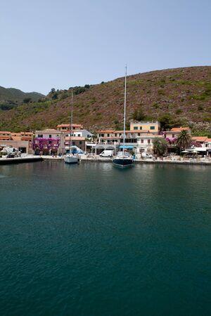 capraia: Nice portrait view of Capraia Marina from the sea.