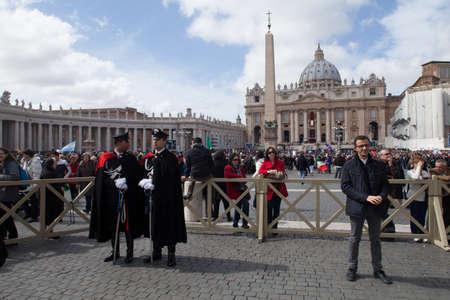 feestelijke opening: ROME, ITALIÃ‹ - 19 maart: Paus Francis inauguratie massa - 19 maart 2013 in Rome.
