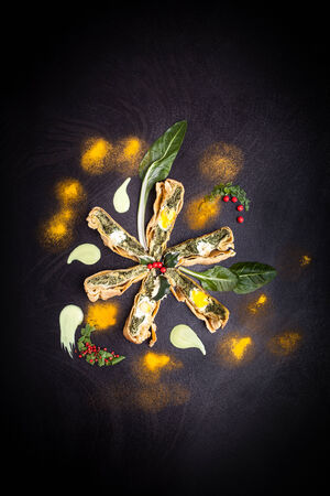 porn: Пирог Цветок