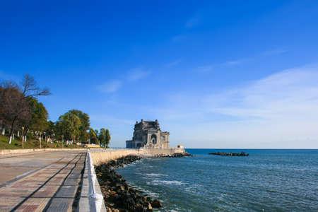 Black sea in Constanta Romania