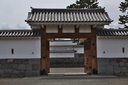 odawara: Odawara Castle house carriage gate Editorial