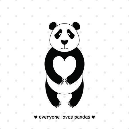 Simple image of panda.