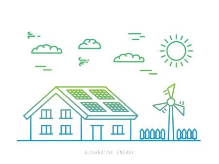 Arten Von Erneuerbaren Energien - Das Diagramm Enthält: Welle, Sonne ...