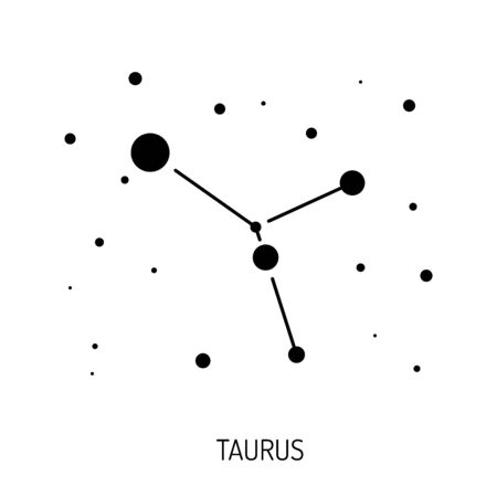 planetarium: Group of stars forming a constellation. The constellation is made in a linear style