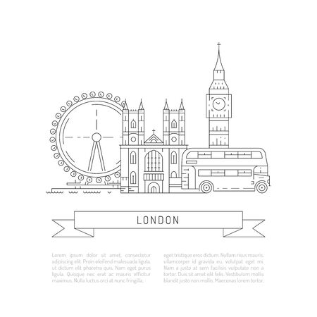 westminster abbey: Historical and modern symbols of London and British culture,