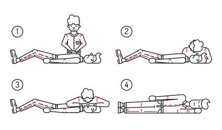 Cardiac Arrest: Description the phased provision of first aid. Person badly and the person who provides first aid to the victim. Scheme first aid when you stop breathing and cardiac arrest