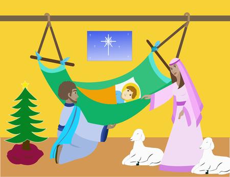 baby jesus: Birth of Baby Jesus