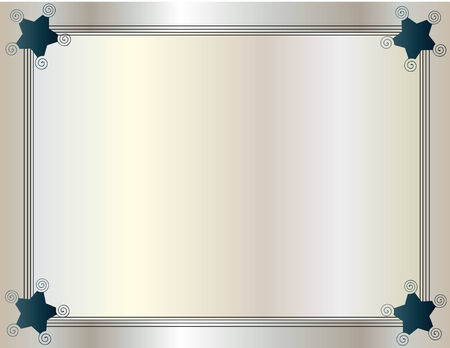 dark slate gray: Framed background with ribbon edge three-wire style