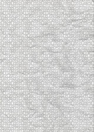 grigiastro: Puzzle grezzi texture di carta bianca grigiastra Archivio Fotografico
