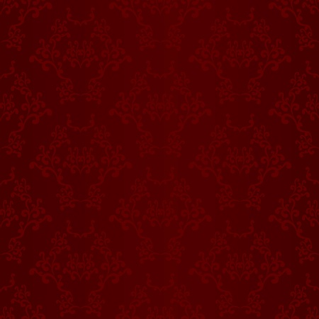 Red seamless wallpaper background pattern design Ilustrace