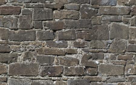 castle rock: La textura perfecta de antiguo muro de piedra de la fortaleza