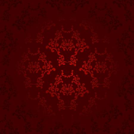 Dark and light red seamless wallpaper background pattern design Vector