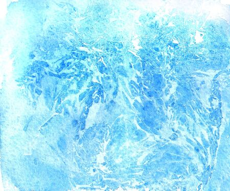 Abstract blue watercolor texture like a marble photo