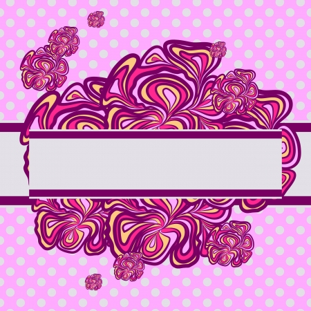 voilet: Pink-purple Abstract Design