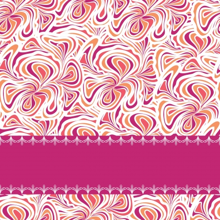 Orange-purple Pattern Vector
