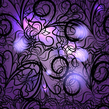 Abstract violet seamless Ilustrace