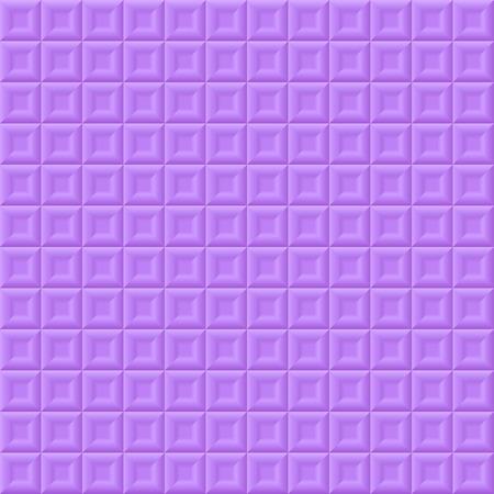 volumetric: Abstract seamless volumetric background with purple squares Illustration