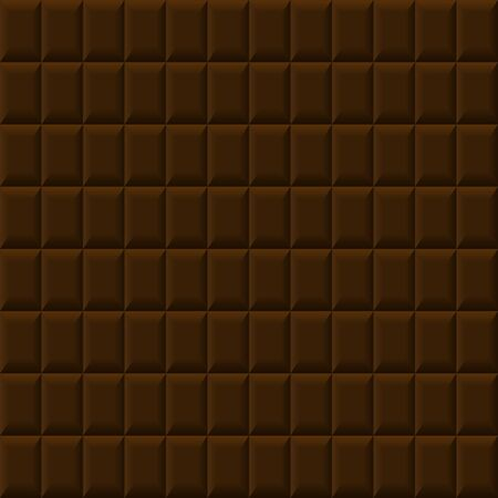 Abstract seamless brown background like as chocolate Illustration
