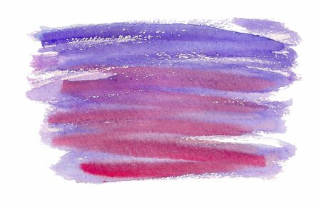 Red and purple watercolor brush stroke abstract background