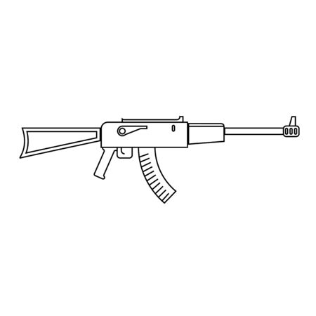 Icon of assault riffle