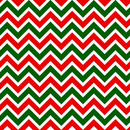 Seamless pattern with zigzag horizontal stripes