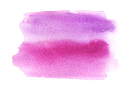Watercolor pink stain Imagens