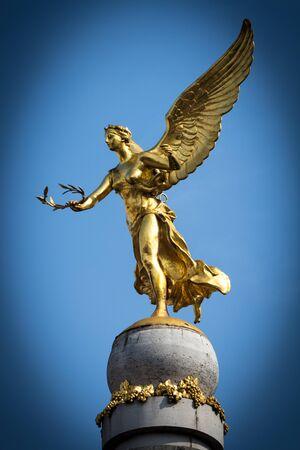 azul: Angel and sky azul Stock Photo