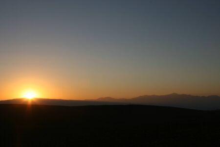 gartenanlage: sunrise in death valley, usa, sunset in death valley, usa
