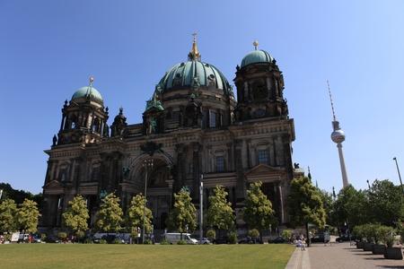berliner dom 版權商用圖片 - 10086669