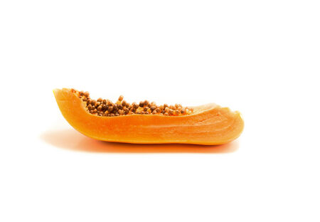 cleave: cleave papaya Stock Photo