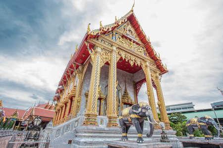 bangkok temple: Watsamiennari  in Bangkok, Temple in Thailand