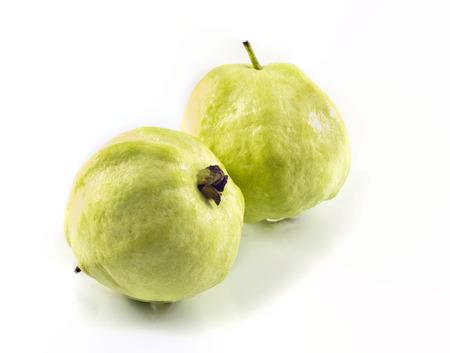 tannins: Guava (Psidium guajava Linn.) Stock Photo