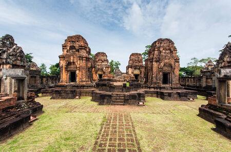 surin: Prasat muang tam sights Surin province,in Thailand.