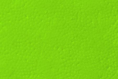 styrene: Green Styrofoam texture background Stock Photo