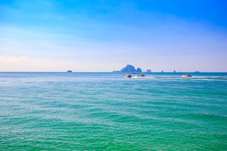 aonang: Seascape in summer,Thailand