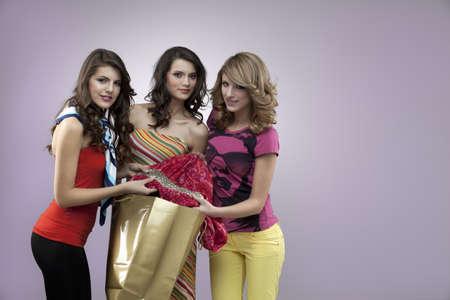 gorgeus: young girls shopping gorgeus