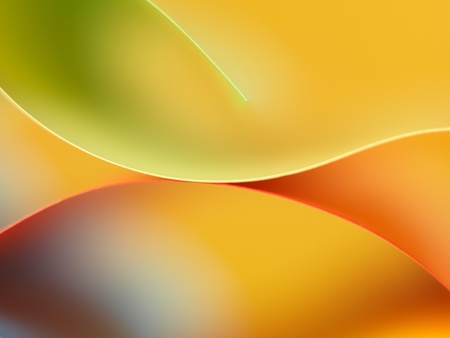 background macro image of colored origami pattern made of curved sheets of paper Stock Photo - 11986261