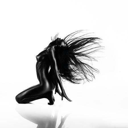 Resultado de imagen de mujer negra pintada desnuda