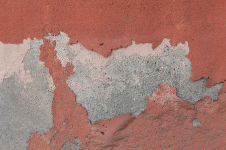 mustiness: wall texture with peeling