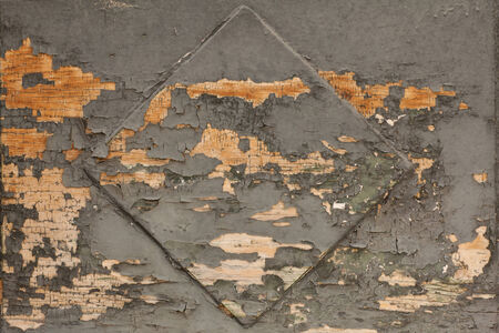 texture ornament wooden door with flaking paint diamond photo