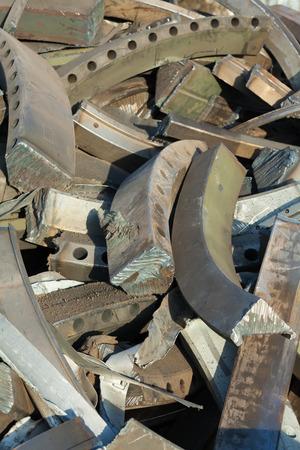 scrap iron: scrap iron backdrop Stock Photo