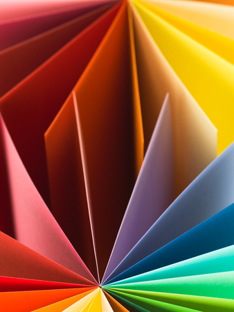 macro image: macro image, abstract background with colorful paper