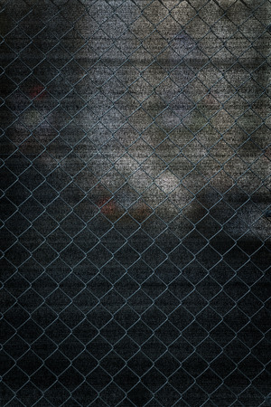 wire fence: wire fence texture used in construction