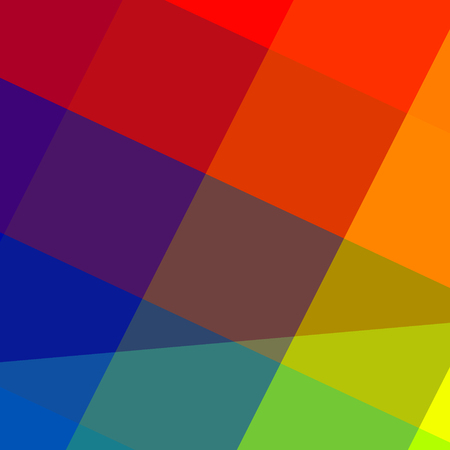colorful abstract pretty vibrant rainbow colors background Stock Photo
